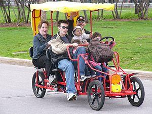 Quadracycle - Image: Quadricycle Intl Q cycle 6 06