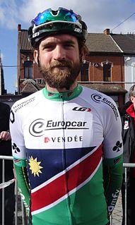 Dan Craven Namibian racing cyclist