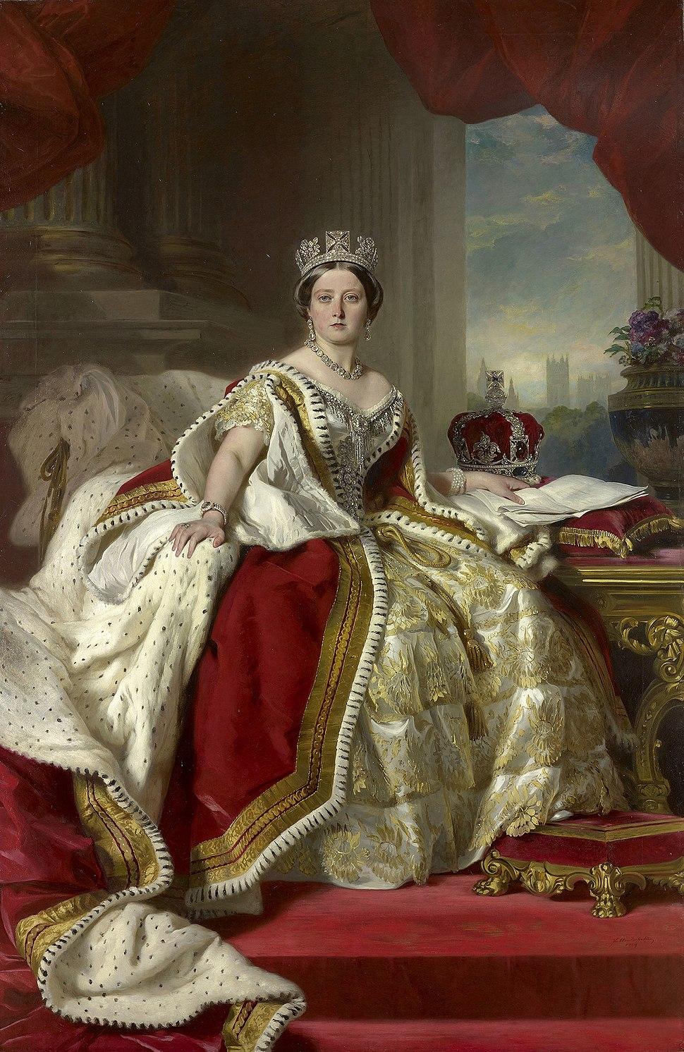 Queen Victoria - Winterhalter 1859