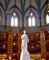 Queen Victoria statues in Parliament Library.jpg