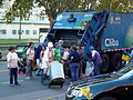 Queuing for Food from Restaurant Throwouts - Buenos Aires - Argentina.JPG