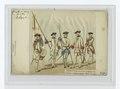 Régiments Wallons au service de Naples, 1775. Tanbour, ensiegne, sergetn, officier, et soldat (NYPL b14896507-84308).tiff