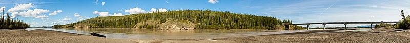Río Tanana, Tok, Alaska, Estados Unidos, 2017-08-28, DD 158-170 PAN.jpg