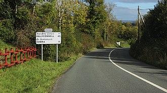 R200 road (Ireland) - Image: R200 in Drumkeeran, County Leitrim