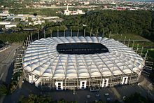 September  Aerial View Of The Volksparkstadion