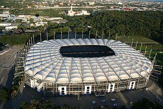 Volksparkstadion - Aerial of the Volksparkstadion