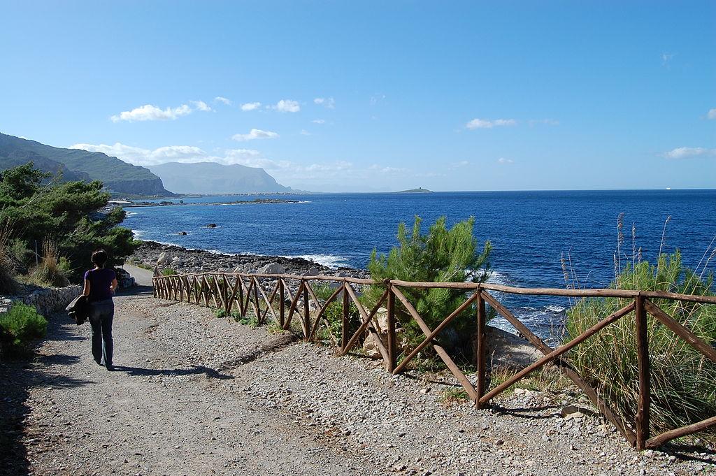 Réserve naturelle de Capo Gallo au nord de Palerme - Photo de tato grasso