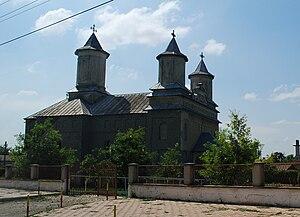 Nicolae Bălcescu, Constanța - Image: RO CT Nicolae Balcescu church