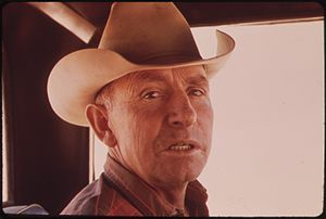 RUEBEN OLDLAND IS A THIRD GENERATION RANCHER O...