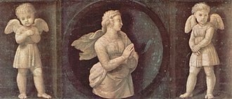 The Deposition (Raphael) - Faith, one of the predella panels