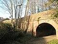Railway bridge under B2150 - geograph.org.uk - 635584.jpg
