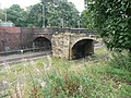Railway bridges, Millfield Road, Horbury - geograph.org.uk - 960346.jpg