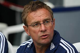 RB Leipzig - Ralf Rangnick in 2011, as head coach of Schalke 04.