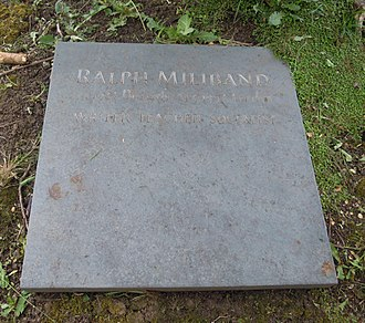 Ralph Miliband - Miliband's grave in Highgate Cemetery