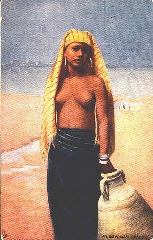 Raphael Tuck & Sons - Image: Raphael Tuck & Sons An egyptian beauty