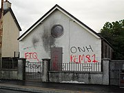Rasharkin Orange Hall - after attack - geograph.org.uk - 1455778