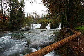Rastoke - Waterfalls and cascades