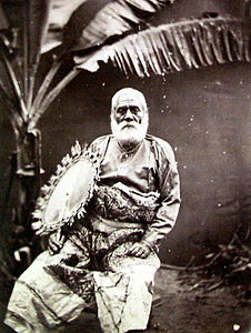 Ratu Cakobau carrying fan taken August 1869.jpg