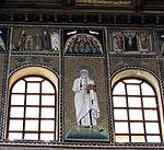 Ravenna, sant'apollinare nuovo, int., santi e profeti, epoca di teodorico 03.JPG