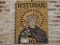 Ravenna Basilica of Sant'Apollinare Nuovo Justinian or Theoderic.jpg
