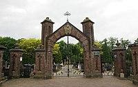 Ravenstein - rijksmonument 518207 - toegangspoort begraafplaats 20130615.jpg
