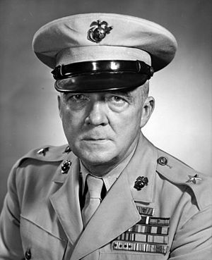 Raymond P. Coffman - Coffman as Brigadier general, USMC