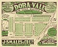 Real estate map of Dora Vale Estate, Moorooka, 1927 (25795153973).jpg