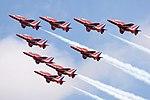 Red Arrows - RIAT 2009 (4154193218).jpg
