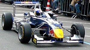 Sebastian Vettel (ASM) with a Dallara F305, Fo...