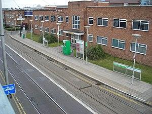 Reeves Corner tram stop - Image: Reeves Corner tram stop
