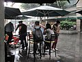 Regnet öser ner i centrala Mexiko City.JPG