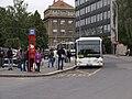 Reko TT Prašný most - Vítězné náměstí, Dejvická, Citaro na NAD.jpg