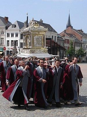 Rumbold of Mechelen - Image: Reliekschrijn Sint Rombaut; Mechelen