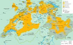 Religion map of Switzerland in 1700 - en.png