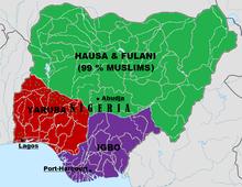 Résultats de recherche d'images pour «nigeria hausa carte»