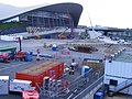 Remodelling of the 2012 Olympic aquatics centre, June 2013 (8991074227).jpg