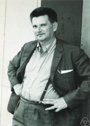 René Thom - René Thom in Nice, 1970