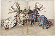 René d'Anjou Livre des tournois France Provence XVe siècle Barthélemy d'Eyck