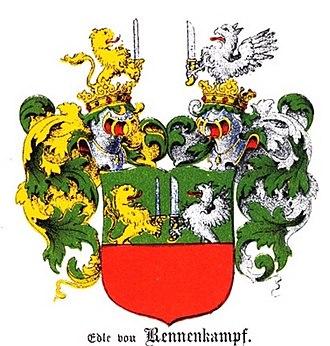 Paul von Rennenkampf - Klingspor