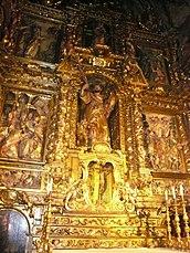 Retablo barroco de San Marcos.