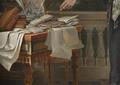 Retrato do Príncipe Regente D. João (1802), pormenor mesa - Domingos Sequeira.png