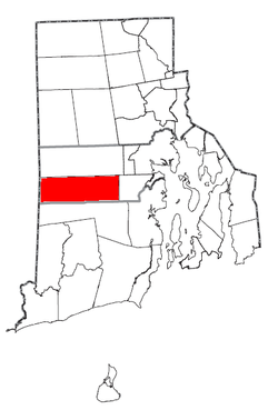 Rhode Island Municipalities West Greenwich Highlighted.png