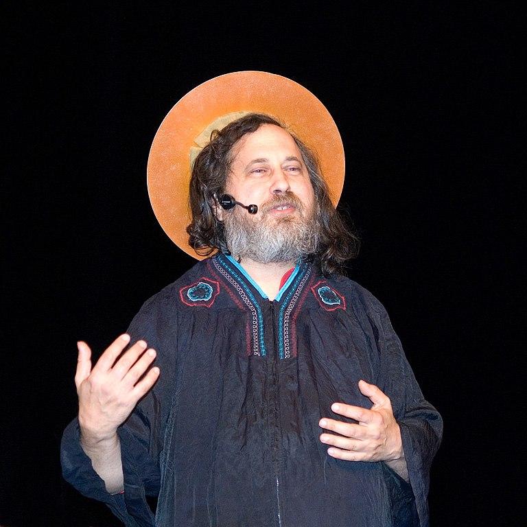 Richard Stallman by gisleh 01