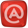 Rie Red-White Icon Email.png