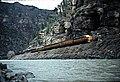 Rio Grande Zephyr in Glenwood Canyon, April 1983.jpg