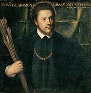 Ritratto dell ambasciatore Gabriel de Luetz d Aramont Tiziano Vecellio 1541 1542 oil on canvas 76 x 74 cm