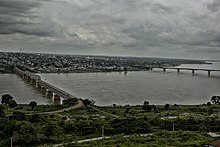 River Benue (in Makurdi With both Bridges).jpg