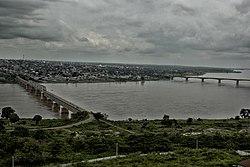 River Benue (in Makurdi With both Bridges).jpg