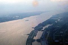 River Mersey in 1962