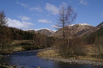 River South Esk - River Esk at Glen Doll